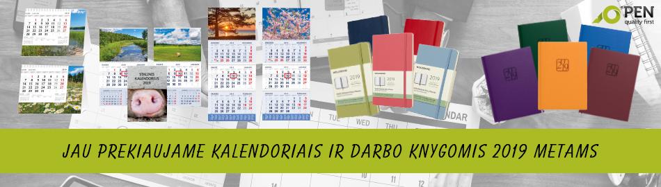 Kalendoriais 2019
