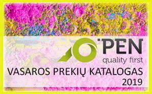 O'Pen vasaros prekių katalogas 2019